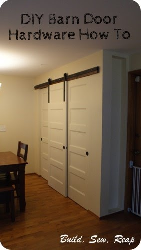 Build Sew Reap Sliding Barn Door How To