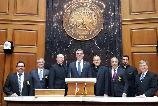 Indiana State Senate Judiciary Committee passes resolution in support of religious freedom for the Ecumenical Patriarchate | Order of Saint Andrew the Apostle - Archons of the Ecumenical Patriarchate