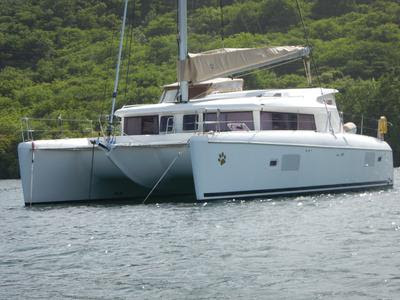 'Nauti Dog', a Lagoon 421 Catamaran for Sale