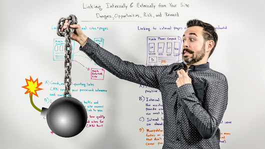 Linking Internally and Externally from Your Site - Dangers, Opportunities, Risk and Reward - Whiteboard Friday