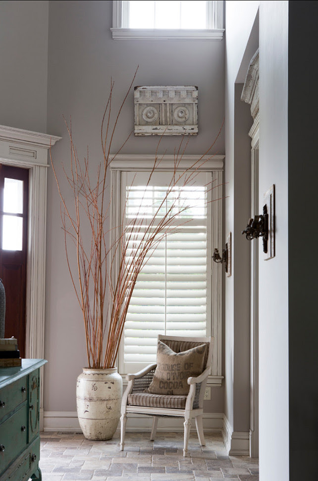 "Sherwin Williams Paint Color. ""Sherwin Williams Versatile gray SW 6072"". #SherwinWilliams #VersatileGray #SW6072 R. Cartwright Design. Heidi Zeiger Photography."