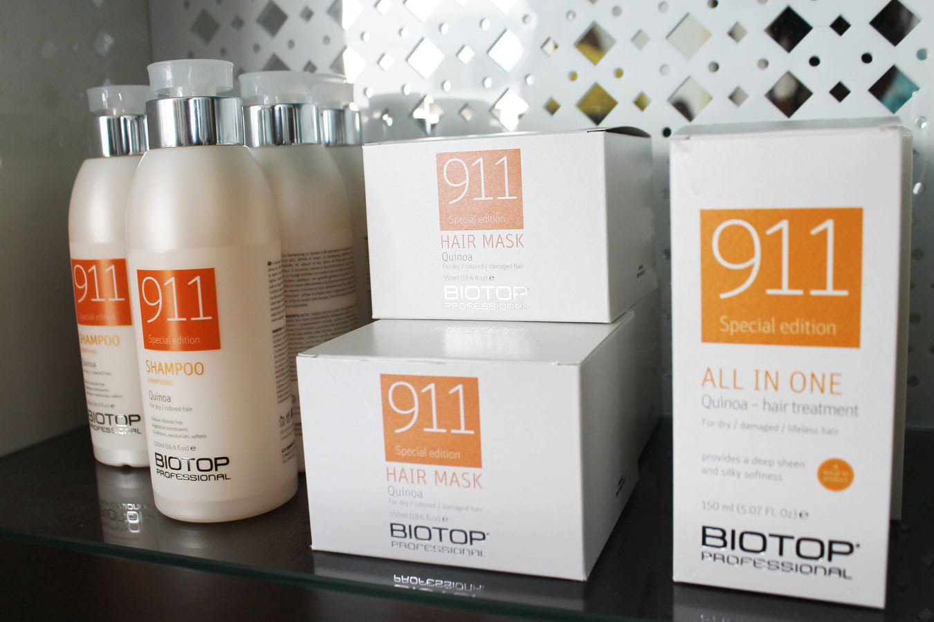 Em\u00e9na Spa in Miami Introduces Quinoa 911 to Rescue Dry   Lifeless Hair