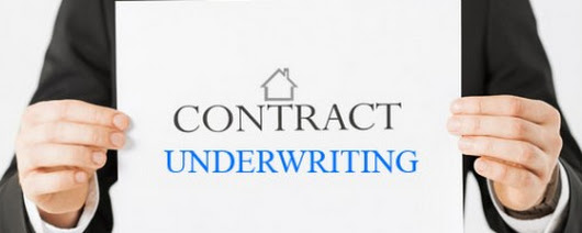 Contract Underwriting – How to make it work for you?