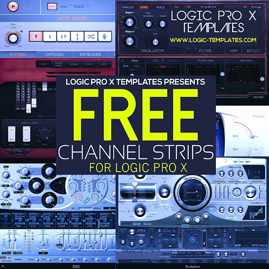 Free Plugins | Logic Pro X Templates – Tutorials – Channel Strips – Plugins