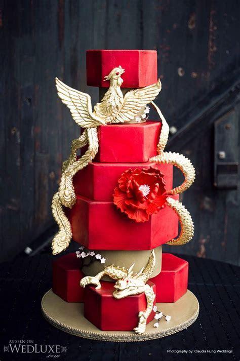 dragon and crossbone wedding cake   Above) Cake and Mini