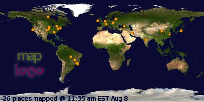 Profile Visitor Map - Click to view visitas