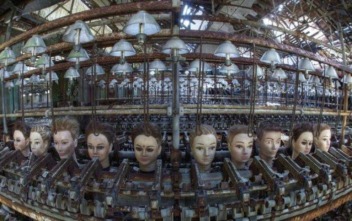 Старая кукольная фабрика.