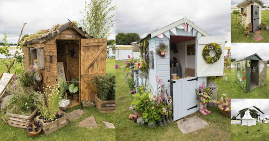 RHS Flower Show Tatton Park 2015: Which is your favourite of the hideaway sheds?