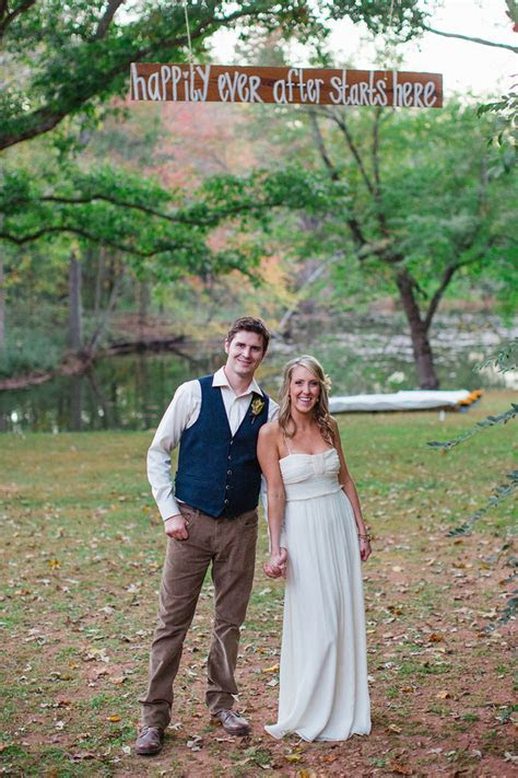 Fall Backyard Wedding   Rustic Wedding Chic