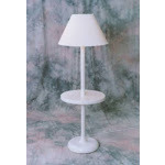 Outdoor Lamp company 110TW Traditional Shade Lamp - White