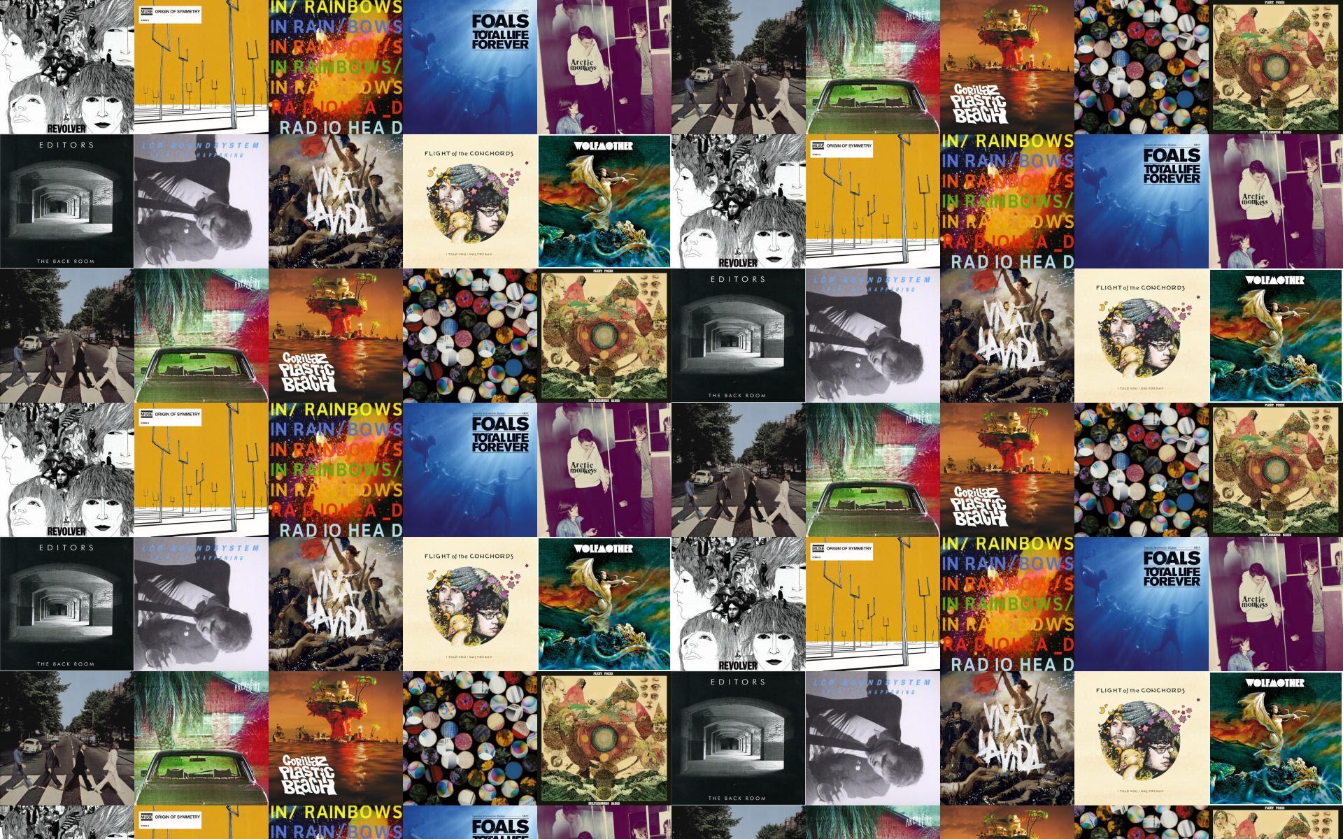 The Beatles Revolver Muse Origin Symmetry Radiohead In Wallpaper