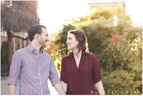 Nashville Engagement Photography in downtown historic