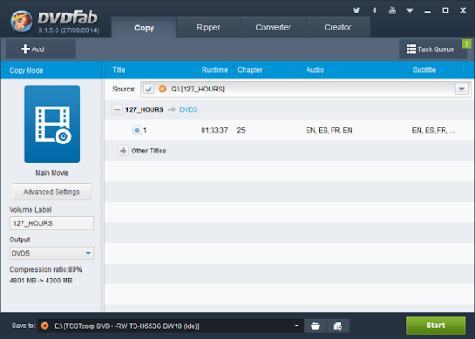 DVDFab DVD Copy (Win Version 9) Review  | TechBead
