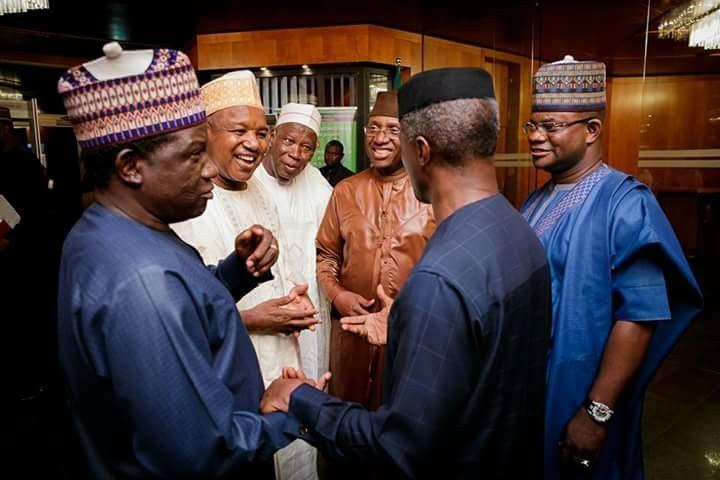 Buhari Receives Apc Governors