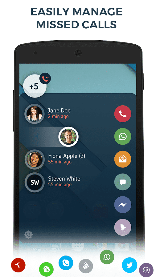 Download Contacts Phone Dialer: drupe (Free) for Android