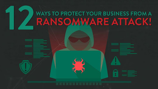 12 Ways to Protect Your Business From a Ransomware Attack [Infographic]