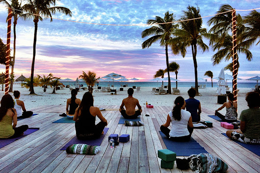 Tranquility & Serenity in Aruba: Let your car rental Aruba drive you to the most beautiful yoga spots - Carvenience