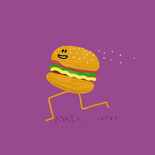 Dom Friday – Stop, Think, Make • New illustration: Fast Food