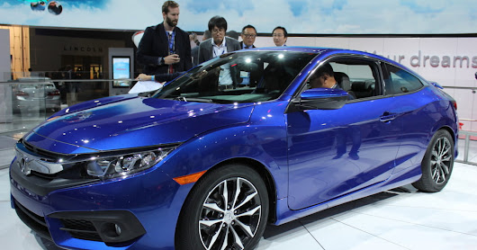 That's a Civic?! Honda's 2016 Coupe looks better than any econobox has a right to
