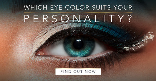 Which eye color suits your personality?
