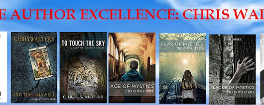 celebrating indie author excellence - chris walters
