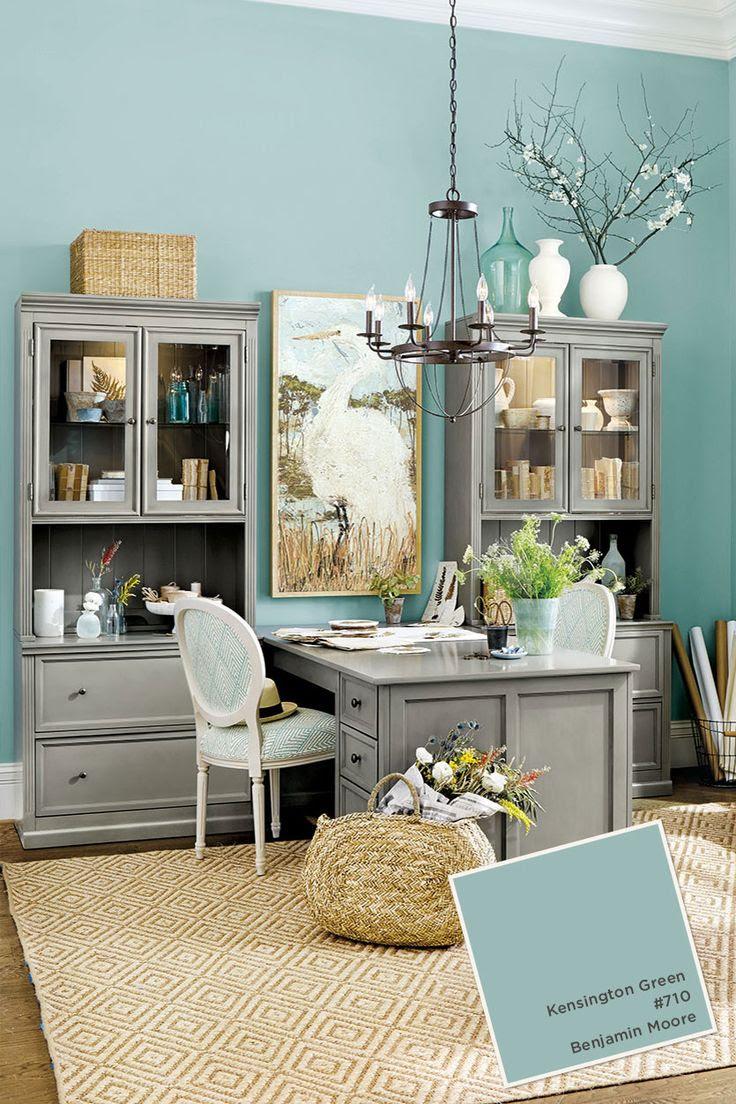 15 Blue Home Office Designs Ideas You'll Love | Interior God