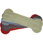 "D Dean Flooring Company, LLC. Peel & Stick 23"" x 8"" Carpet Stair Treads - Mosaic Dog Bone - (13)"