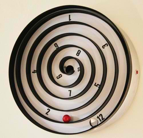 funky classy wall clock