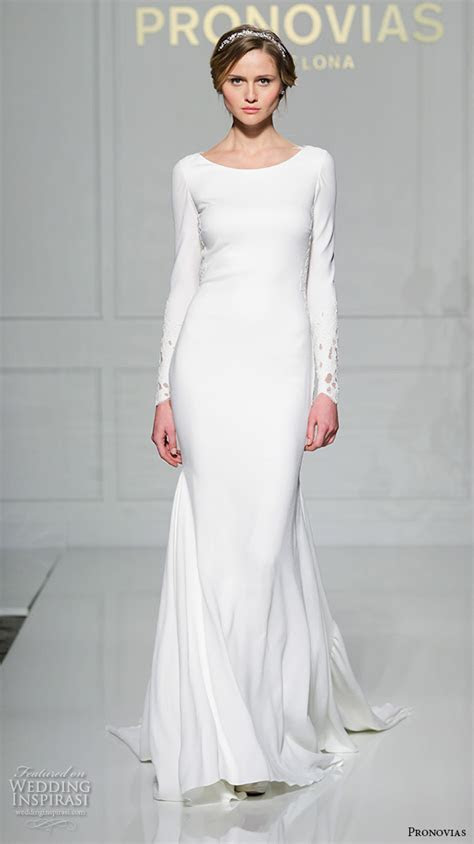 Long Plain White Dress : weddingdress