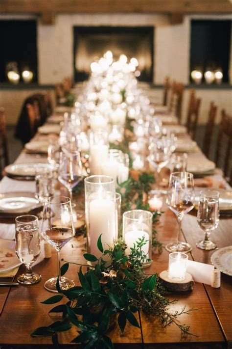 1000  ideas about Long Table Centerpieces on Pinterest