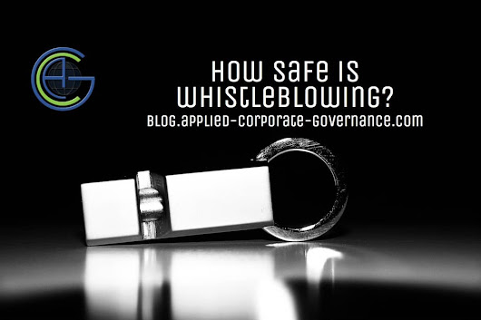 How safe is whistleblowing? | Applied Corporate Governance