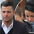 Things are going well then! Michelle Keegan spotted doing the walk of shame after 'spending the night' with Mark Wright