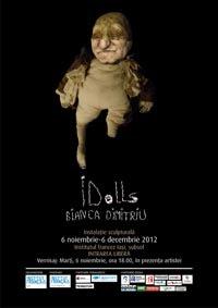 "121106 idolls ""Idolls"", instalatie sculpturala de Bianca Dimitriu/ 6 noiembrie 6 decembrie"