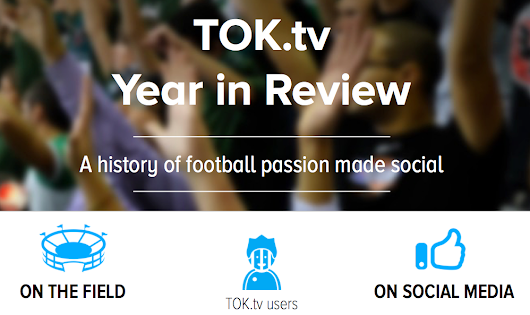 Infographic: football and social media, a year in review | TOK.tv
