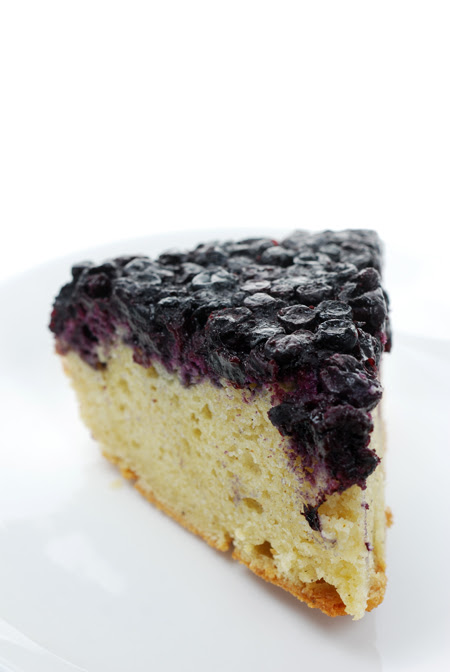 Berry Eggnog Cake© by Haalo