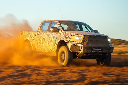 Ford begins official Ranger Raptor countdown