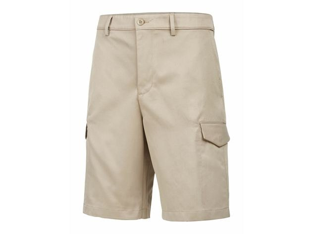 """Attack Life by Greg Norman Men's 10"""" Cargo Shorts Beige Size 30 for $94"""