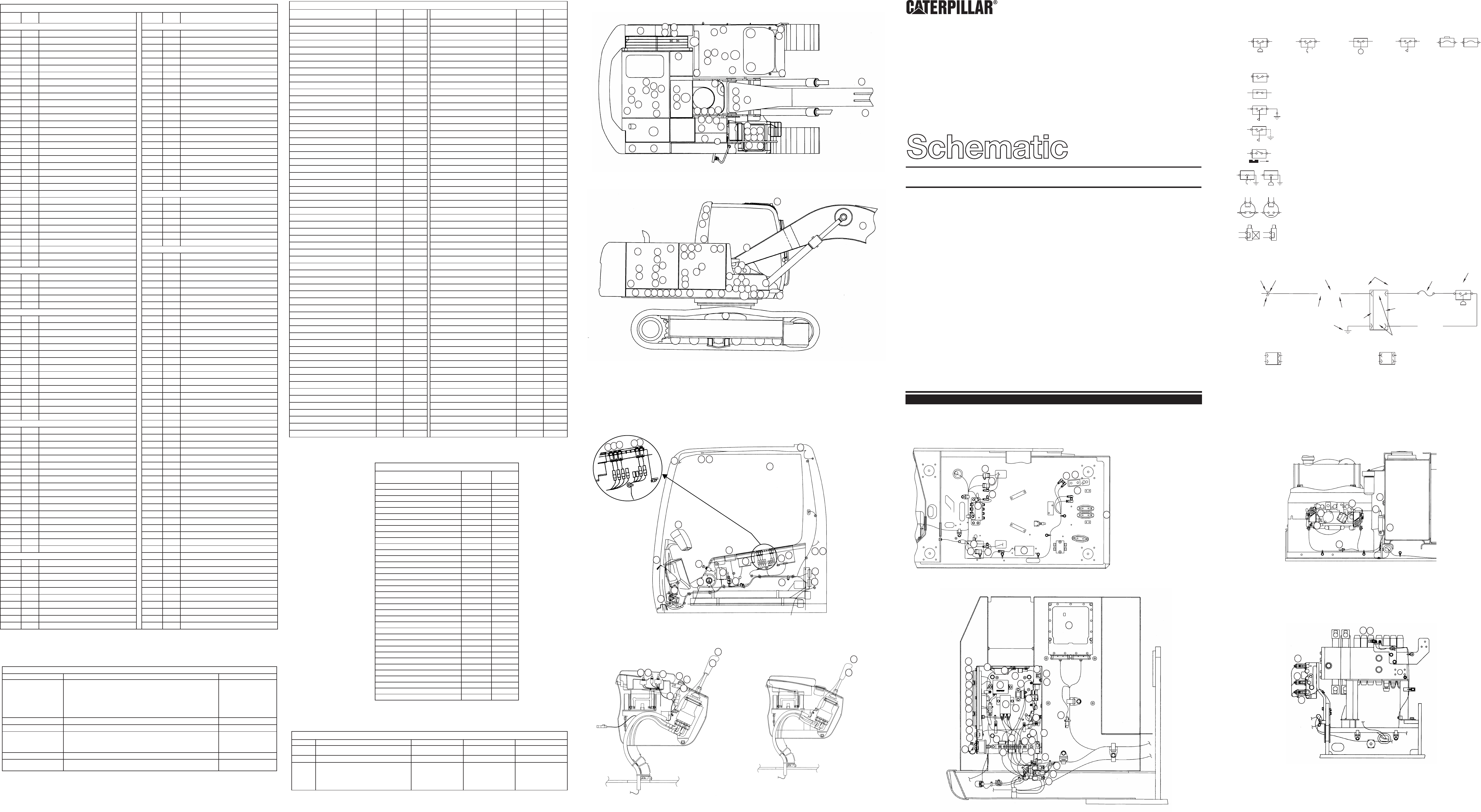 315c Excavator Electrical Schematic Vol 1 Main Vol 2 Tool Control Used In Service Manual Renr5520 Cat Machines Electrical Schematic