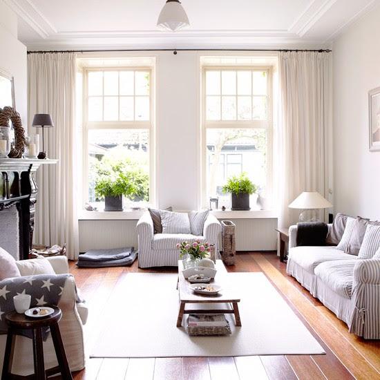Coastal-inspired living room   Coastal decorating ideas   housetohome.