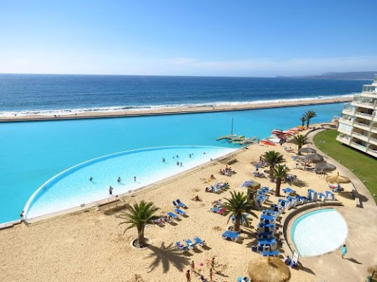 Chile's Largest Man-Made Pool