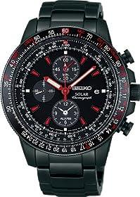 [セイコー]SEIKO 腕時計 PROSPEX プロスペックス スカイ プロフェッショナル ゴルゴ13コラボレーション限定モデル「空」 日常生活用強化防水 (10気圧) ソーラー 【数量限定】 SBDL011 メンズ