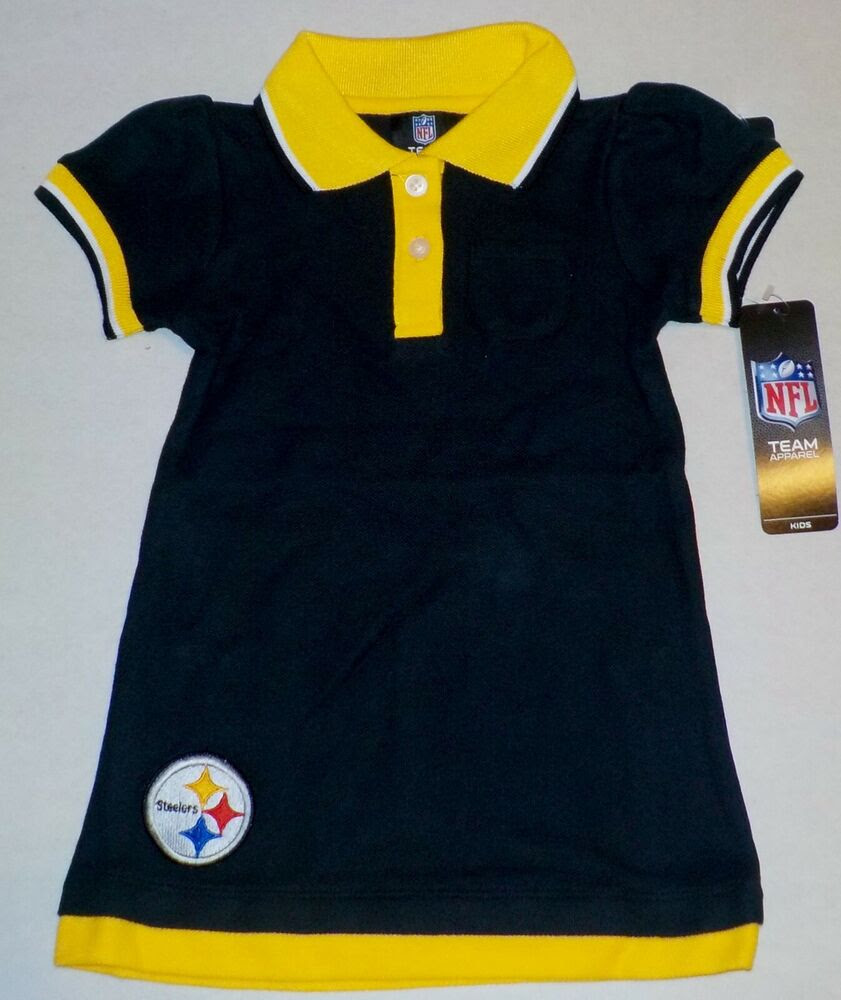 PITTSBURGH STEELERS NFL TEAM APPAREL JERSEY T SHIRT TODDLER 2T 3T 4T NWT BLACK  eBay
