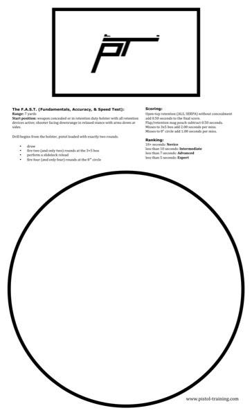 Printable Targets [Archive] - pistol-forum.com