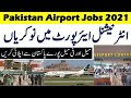 International Airport Jobs 2021-Latest Jobs 2021 For Male & Female