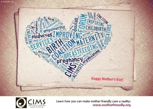 CIMS Mother's Day Postcard