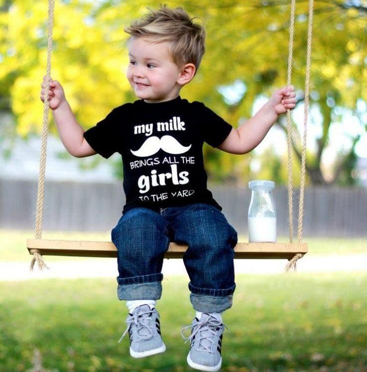 Kinder Haare Mode Jungs