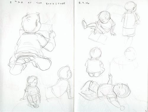 sketchdump: ezra