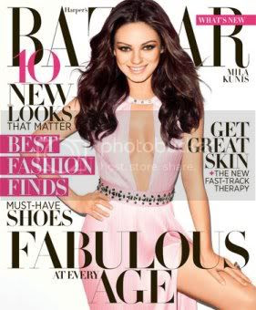 Mila Kunis Harpers Bazaar April 2012 Fashion Style