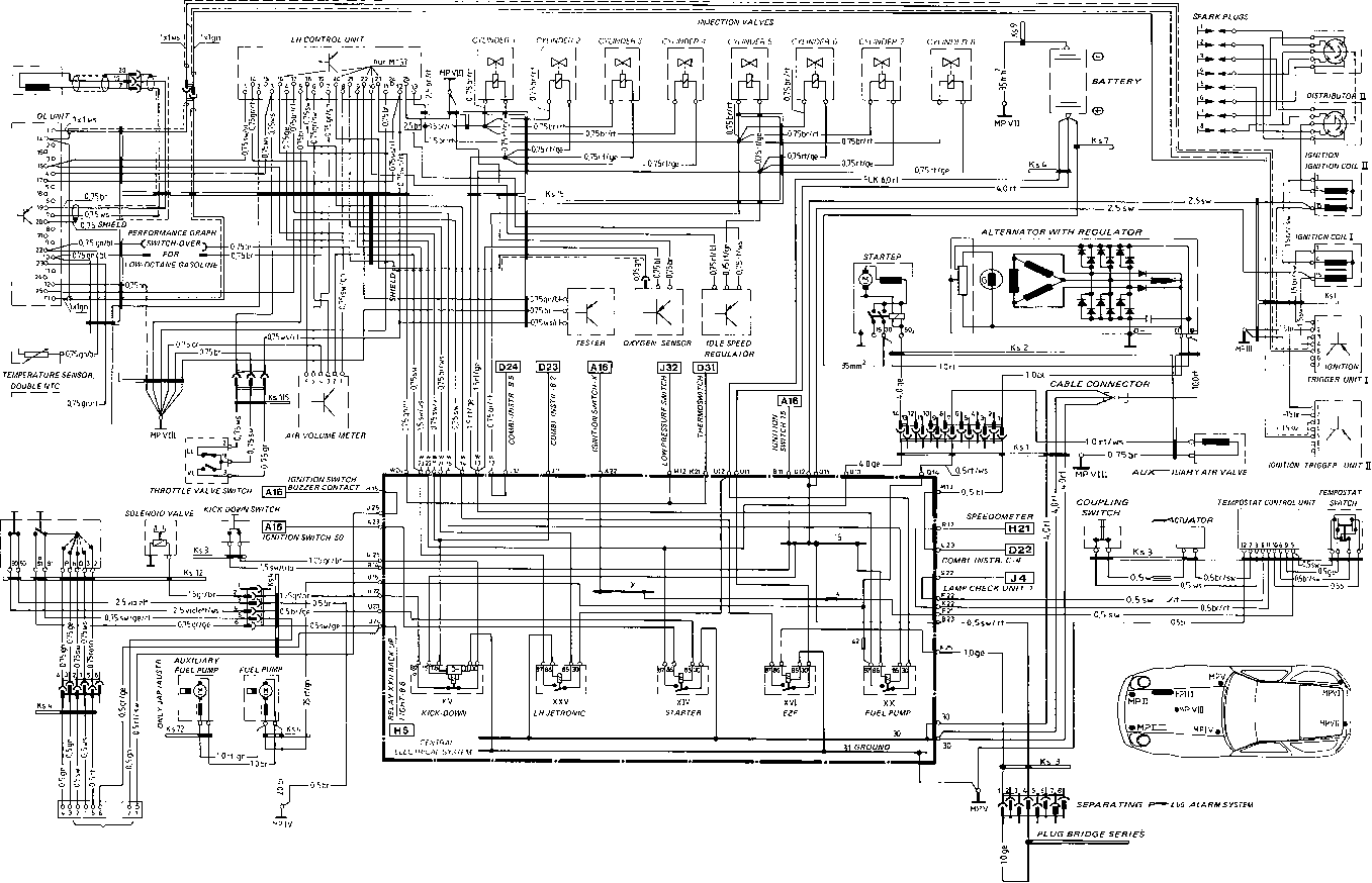 wiring diagram 4u2: Wiring Diagram Type 928 S Model 85