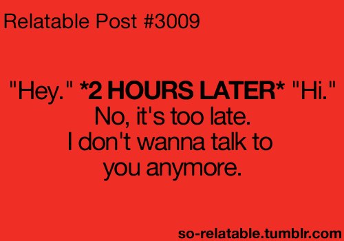 I Dont Wanna Talk To You Anymore Quotespicturescom
